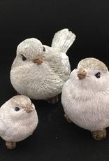 Vogel wit-grijs