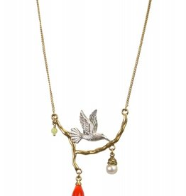 Hultquist Necklace with bird