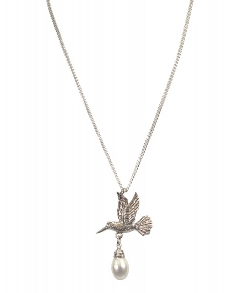 Hultquist Necklace with hummingbird