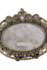 Clayre & Eef Fotolijstje oval