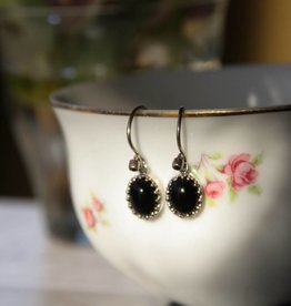 Carré Jewellery Black Agate earrings