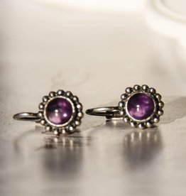 Carré Jewellery Amethyst earrings