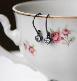 Carré Jewellery Hartjes in geoxideerd zilver