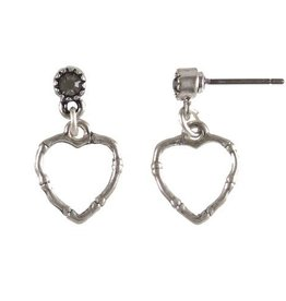 Hultquist Heart earrings