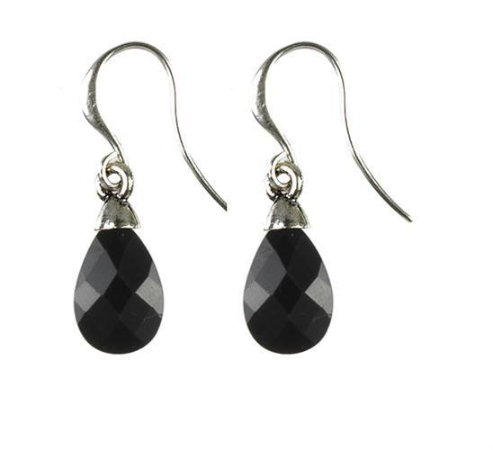Hultquist Black earrings
