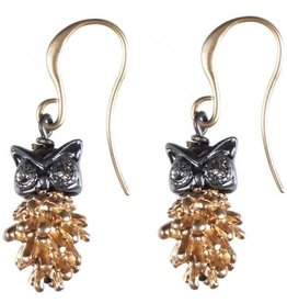 Hultquist Owl earrings