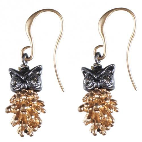 Hultquist Owl earrings