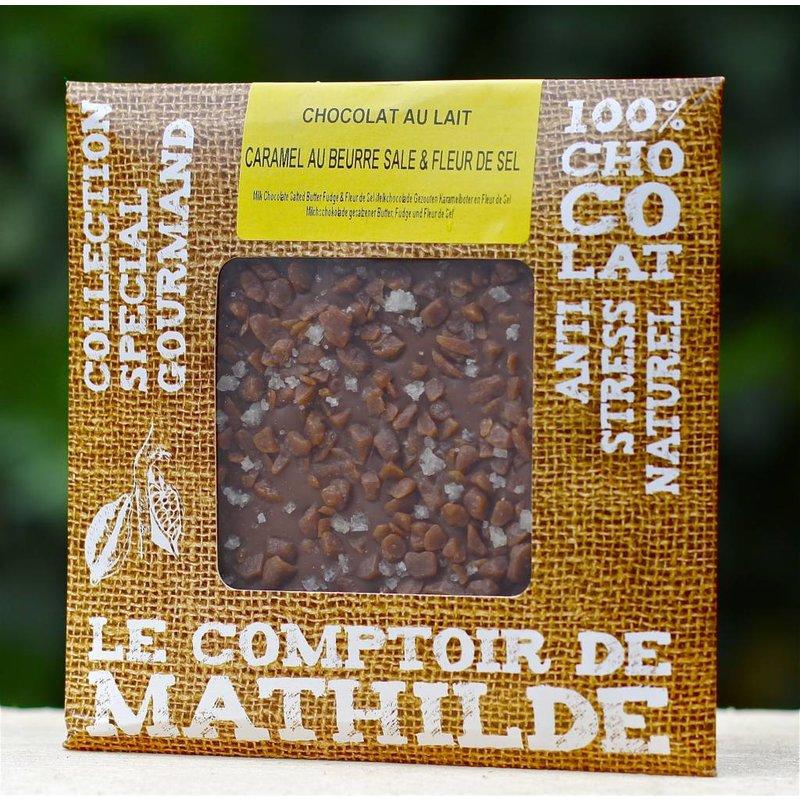 Cadeaupakket met chocoladeproducten