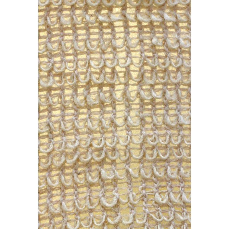 Scrubband van sisal en badstof