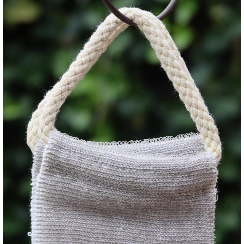 Scrubband linnen met bamboe