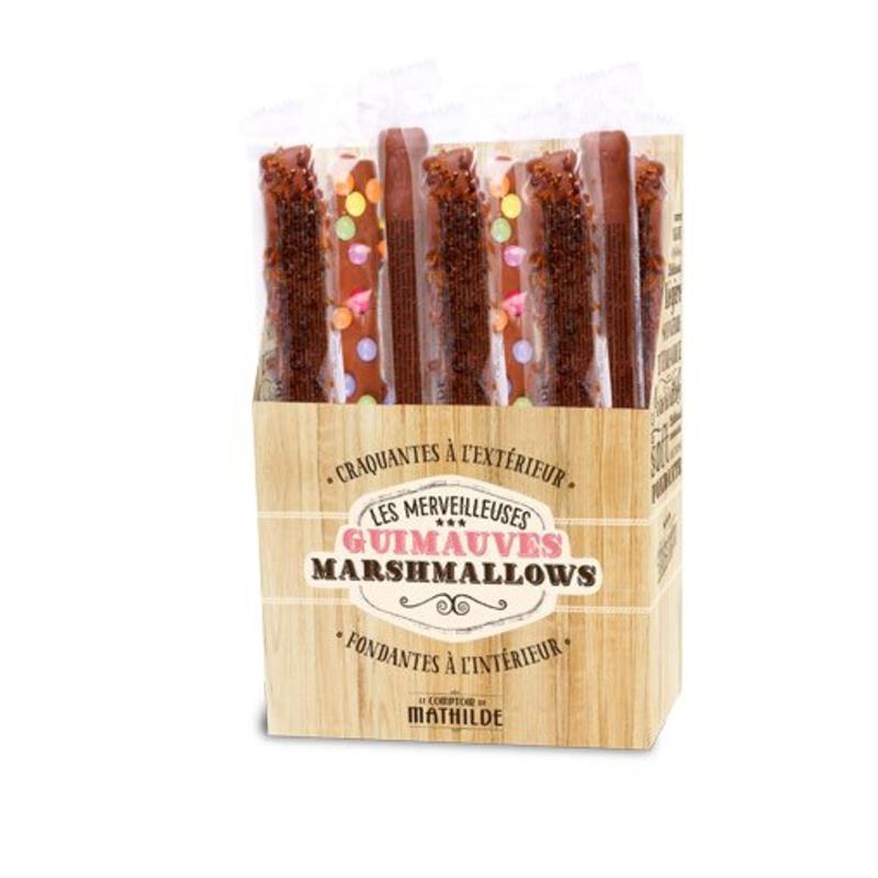 Marshmallow chocolade met caramel
