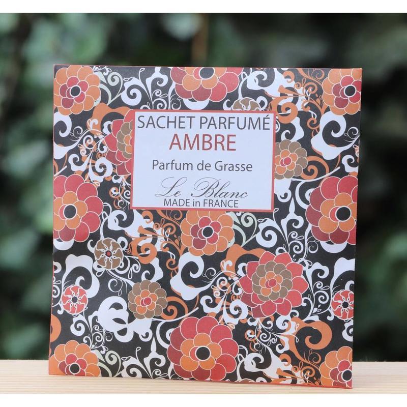 Papieren geurenvelop amber