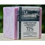 Blokken Marseillezeep in de geur lavendel