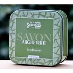 Blikje zeep met klei of met algen