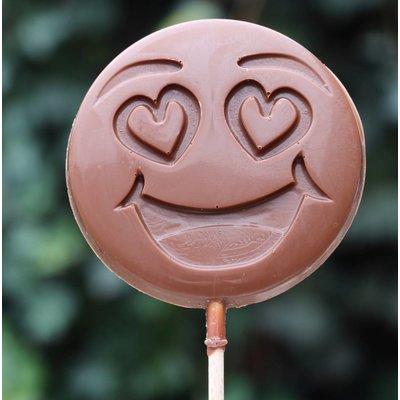 Chocoladelollie emoticon