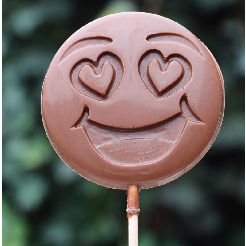 Chocoladelollie emoticon  I love you