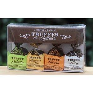 Losse chocolade en truffels