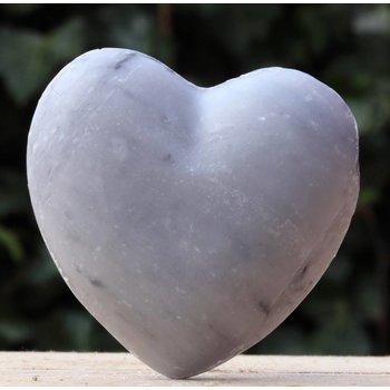 Maitre Savonitto Grote hartzeep grijs