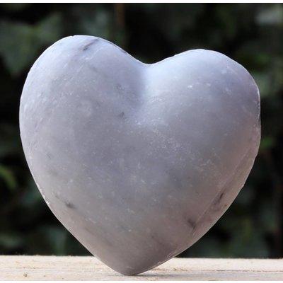 Grote hartzeep grijs