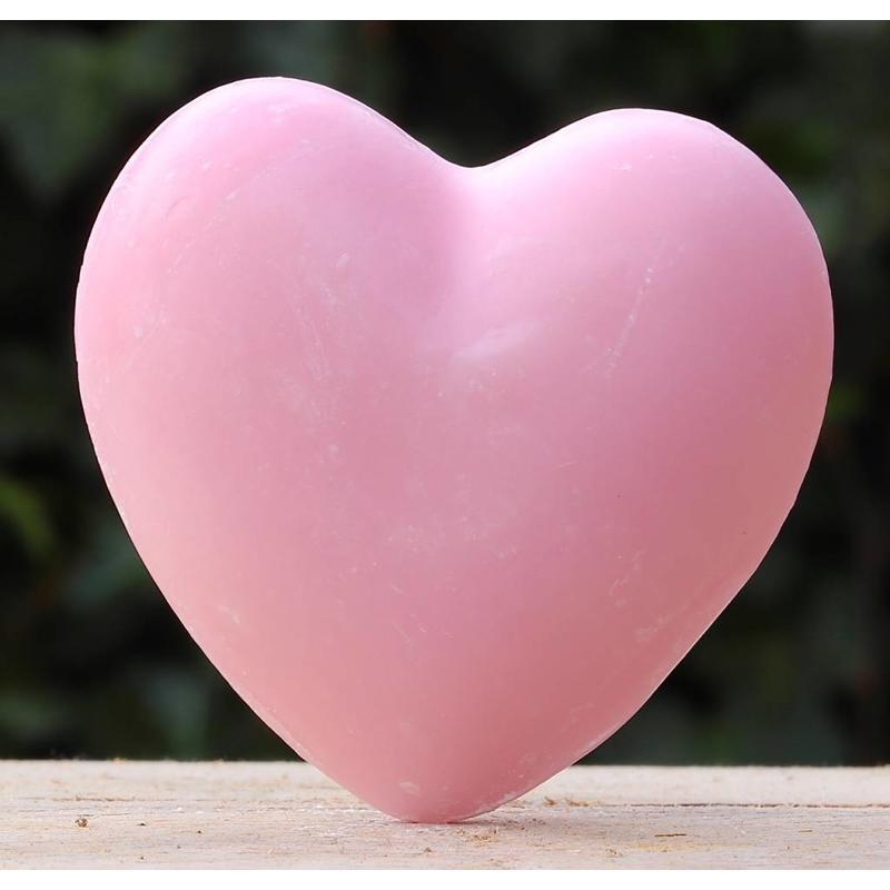 Roze hartzeep