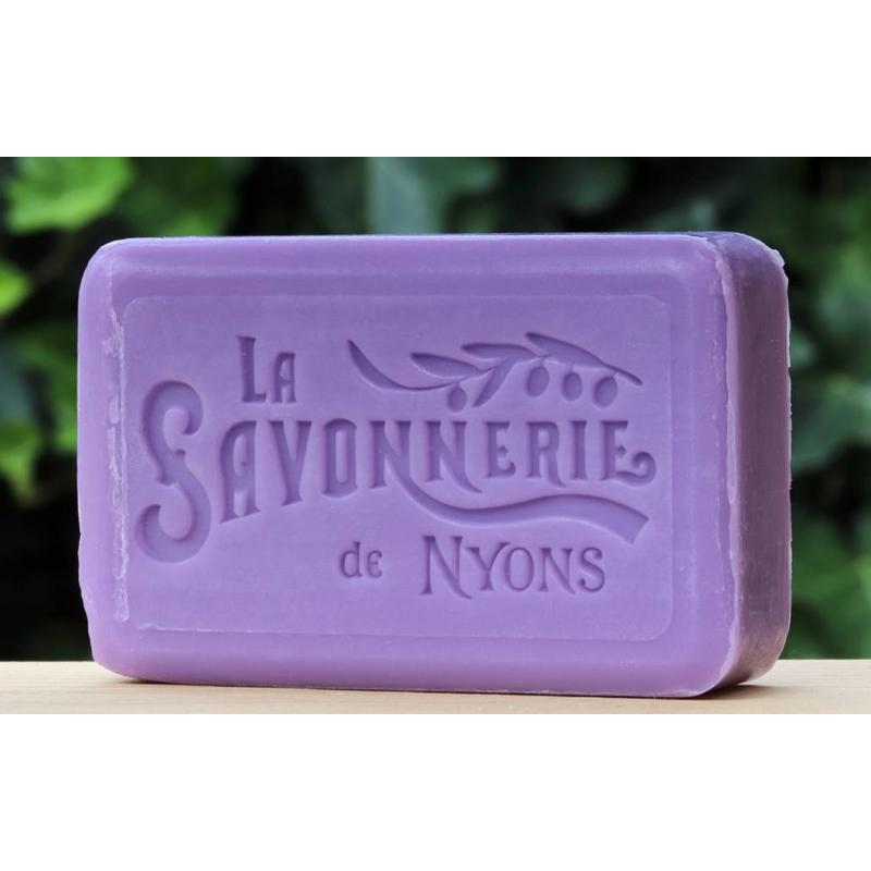 Groot blik zeep lavendelpluk