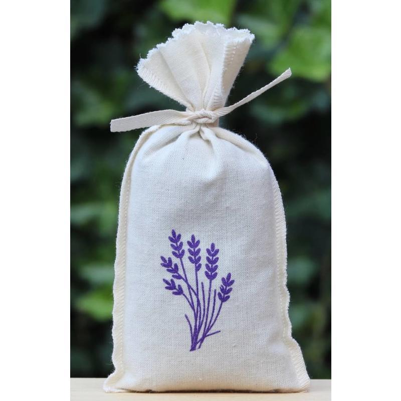 Lavendelzakje met eigen bedrukking