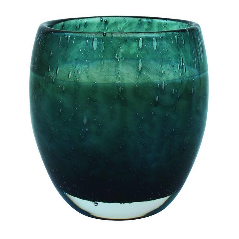 Geurkaars in Perle-glas gepersonaliseerd