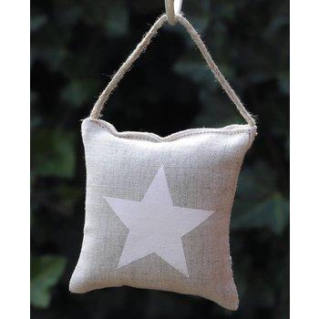 Lumière de Provence Kussentje witte ster
