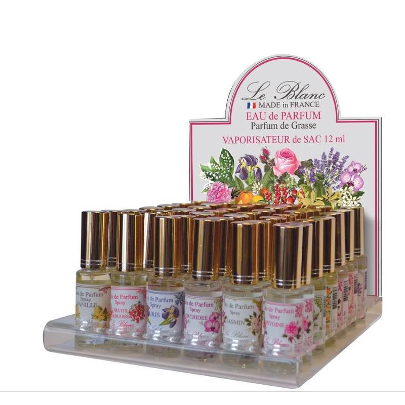 Miniflesje eau de parfum rozen