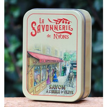 Savonnerie de Nyons Groot blik zeep boutique