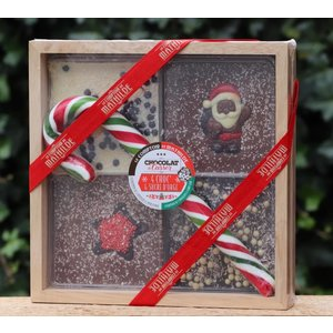 Kistje chocolade Kerst