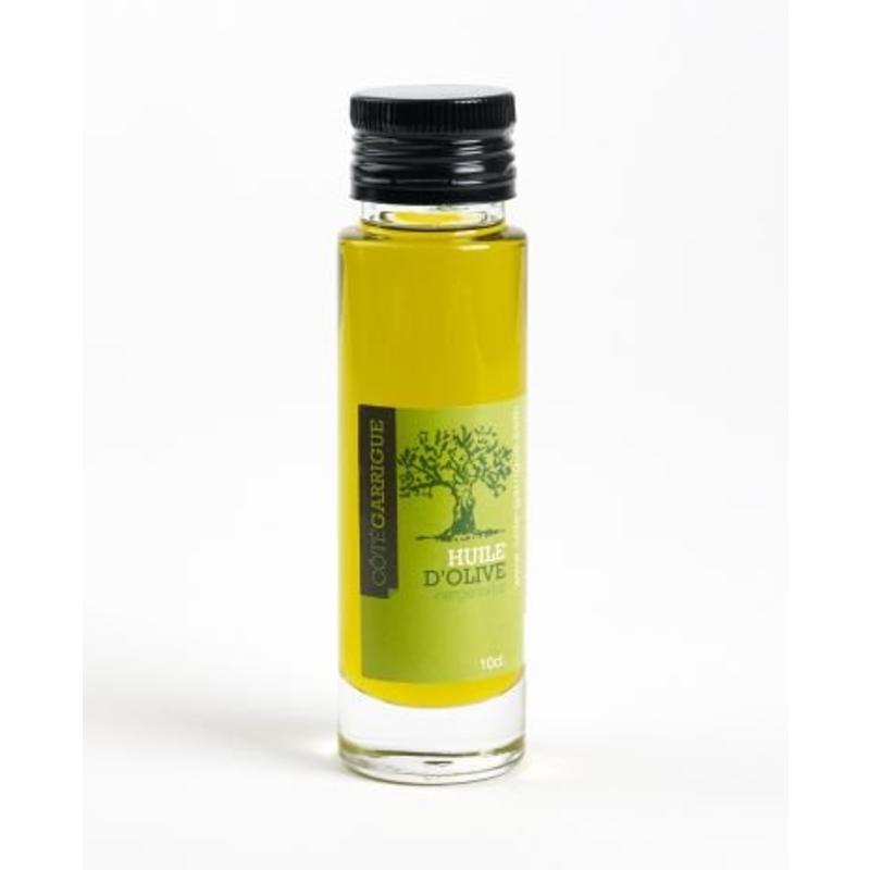 Luxe fles olijfolie en vinaigre met eigen etiket