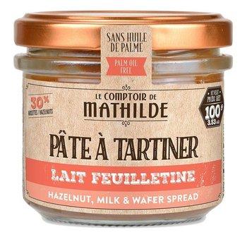 Le Comptoir de Mathilde Chocoladepasta feuilletine