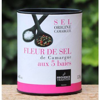 Provence Tradition Kokertje fleur de sel peper