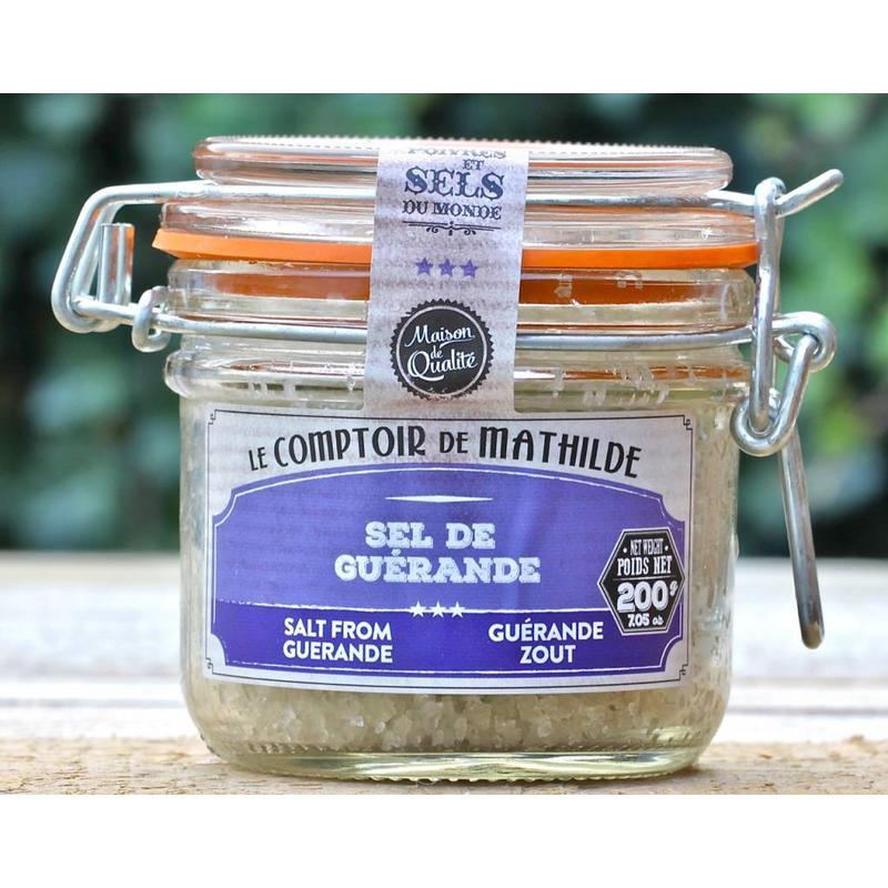 Pot met zeezout uit de Guérande