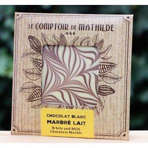 Chocoladetablet wit/blond