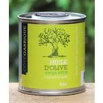 Blikjes olijfolie