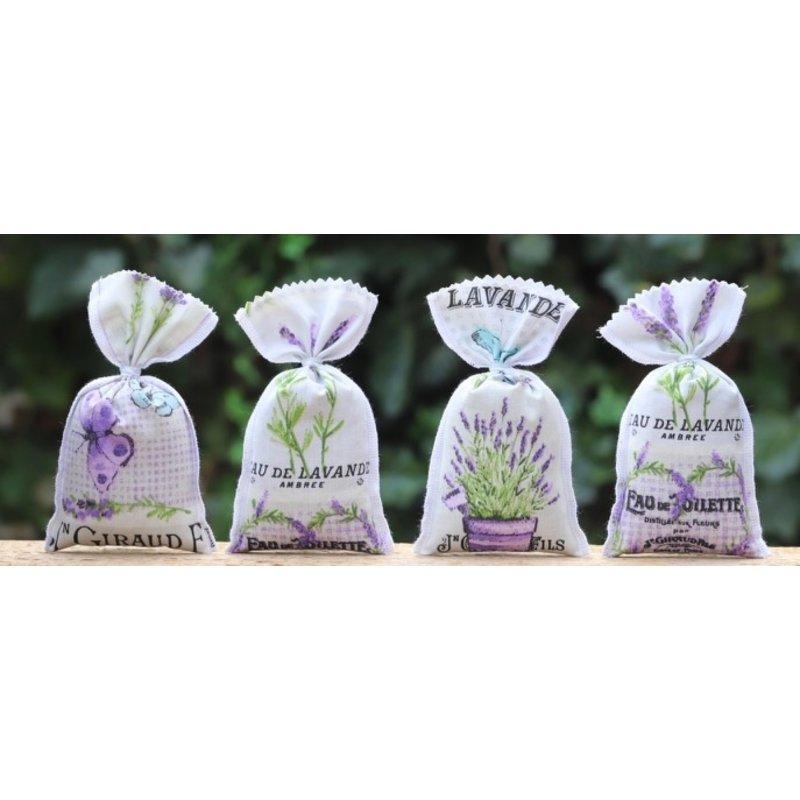 4 lavendelzakjes Baronnies