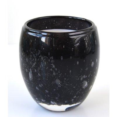 Geurkaars Perle  zwart