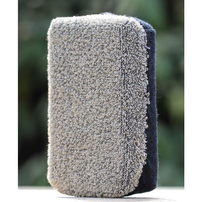 Grijze spons van ramie