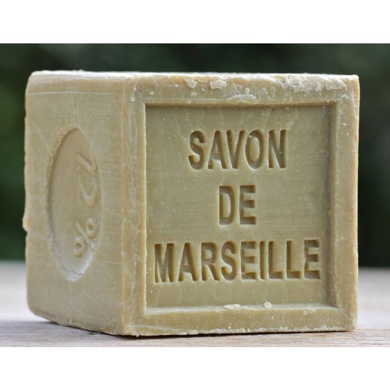 Blok Marseillezeep met olijfolie