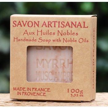 Maitre Savonitto Doosje zeep amber musk