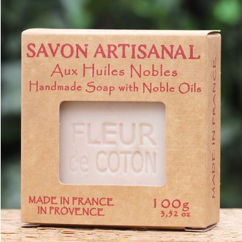Maitre Savonitto Doosje zeep coton