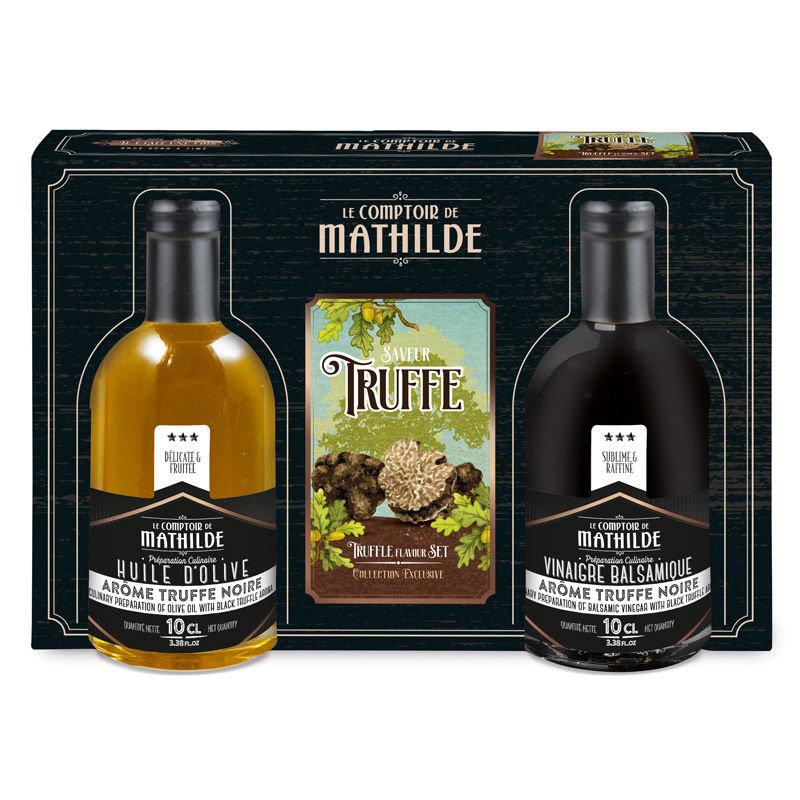 Cadeaupakket met delicatessen met truffel