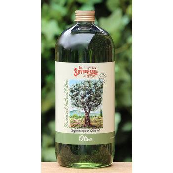Savonnerie de Nyons Literfles zeep olijven