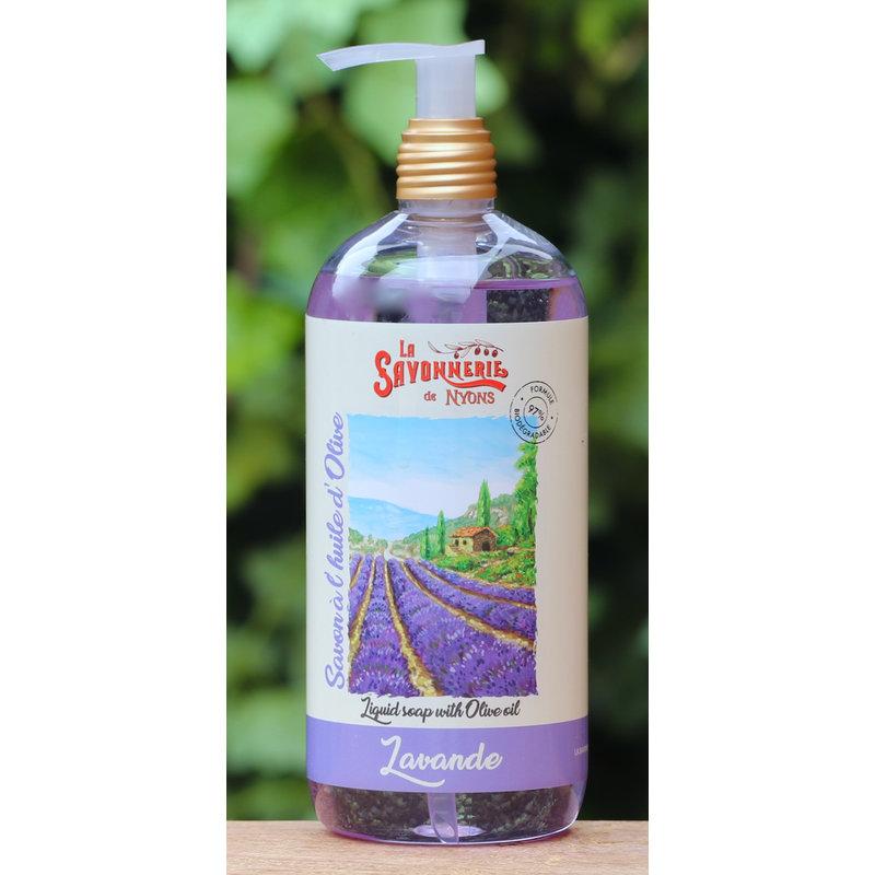 Zeeppompje handzeep lavendel