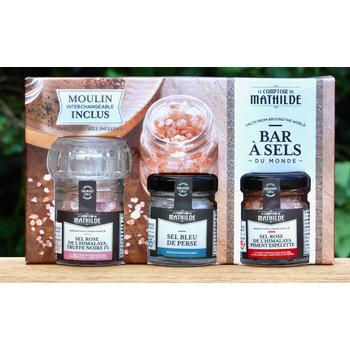Le Comptoir de Mathilde Giftbox 3 zoutsoorten