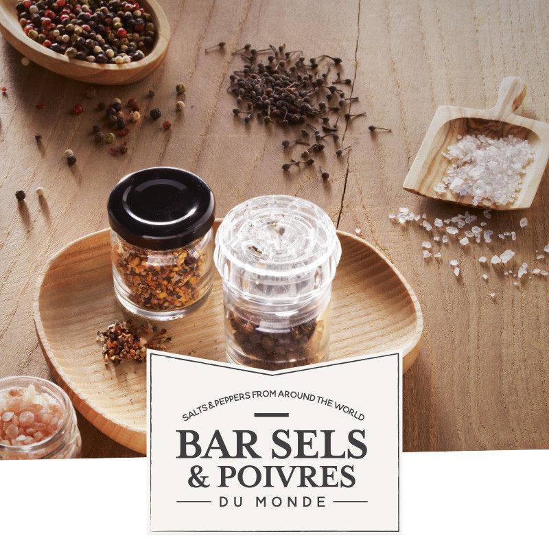 Cadeaupakket met 3 potjes zout en molentje