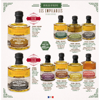 Le Comptoir de Mathilde Olijfolie met champignons