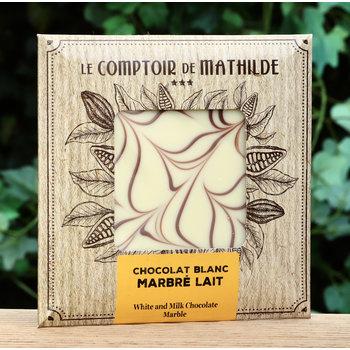 Le Comptoir de Mathilde Tablet gemarmerd